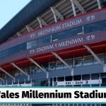 Wales Millennium Stadium also known as the Principality Stadium