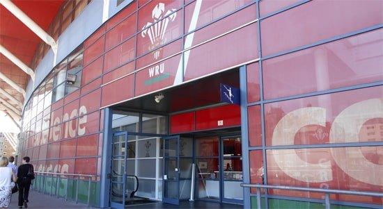 Wales Millennium Stadium entrance for tours