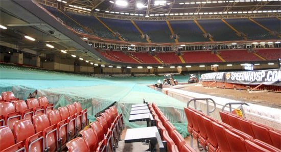 Speedway in Cardiff Wales