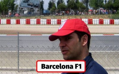 Visiting the Spanish F1 in Barcelona at the Circuit de Catalunya