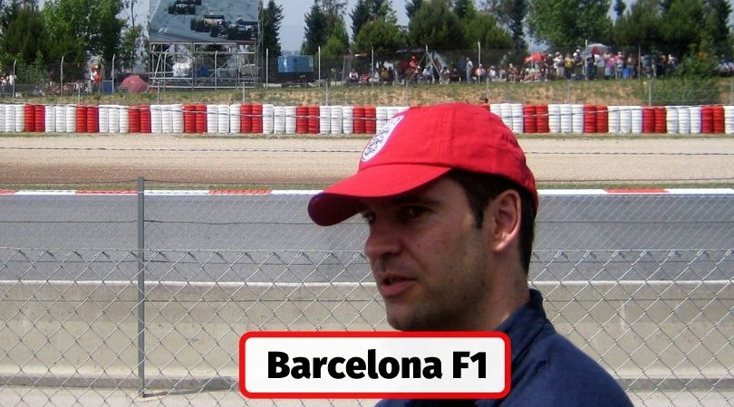 Visiting the Barcelona F1 grand prix in Spain