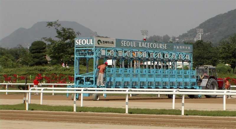 Seoul horse racing track