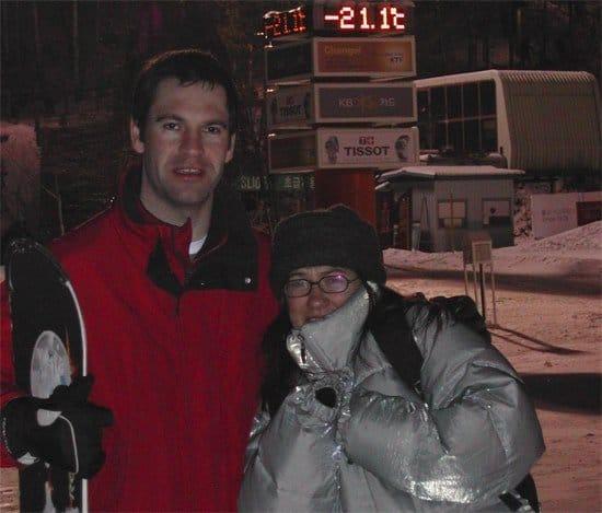 Skiing in Pyeongchang-gun