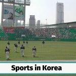 Sports in South Korea