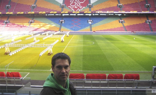Paul in the Amsterdam Arena