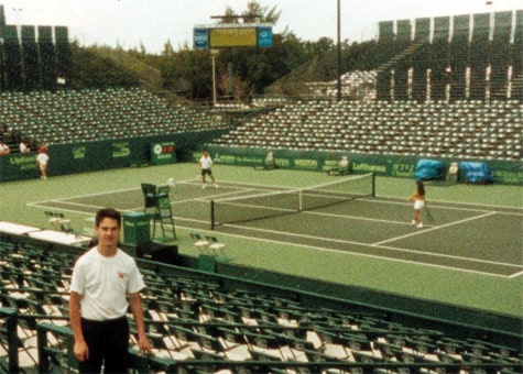 Paul at the Miami Open several years ago.