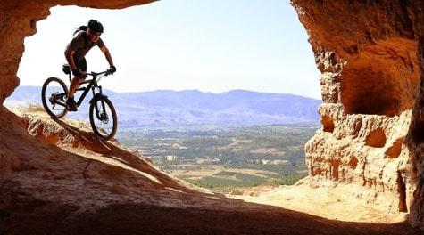 Mountain biking in Crete, Greece