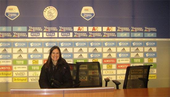 Amsterdam Arena press area