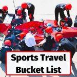 Sports travel bucketlist