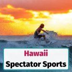 Hawaii spectator sports