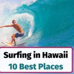 Best places for surfing in Hawaii